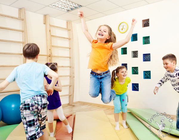 Kids learning ability jumps 2 years with 25 minute GymbaROO movement program