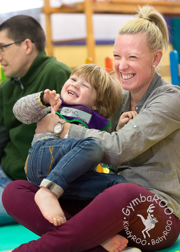 Happy for life: How GymbaROO and BabyROO help emotional development